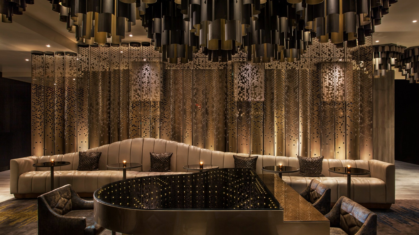 Living Room Piano Bar | W New York - Times Square