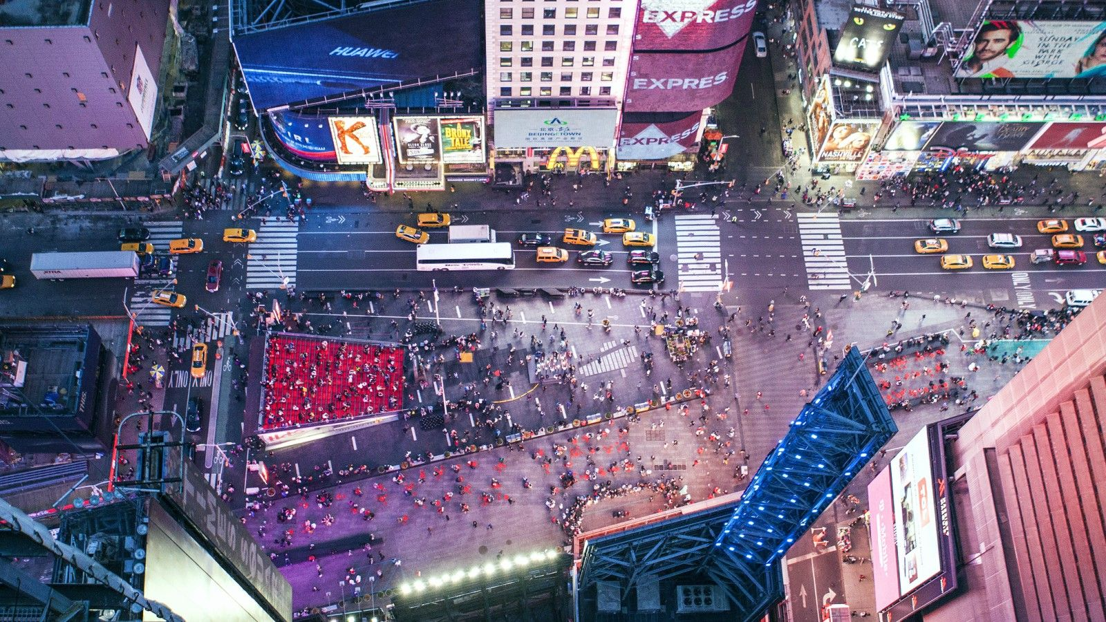 Things to do in NYC - Times Square View