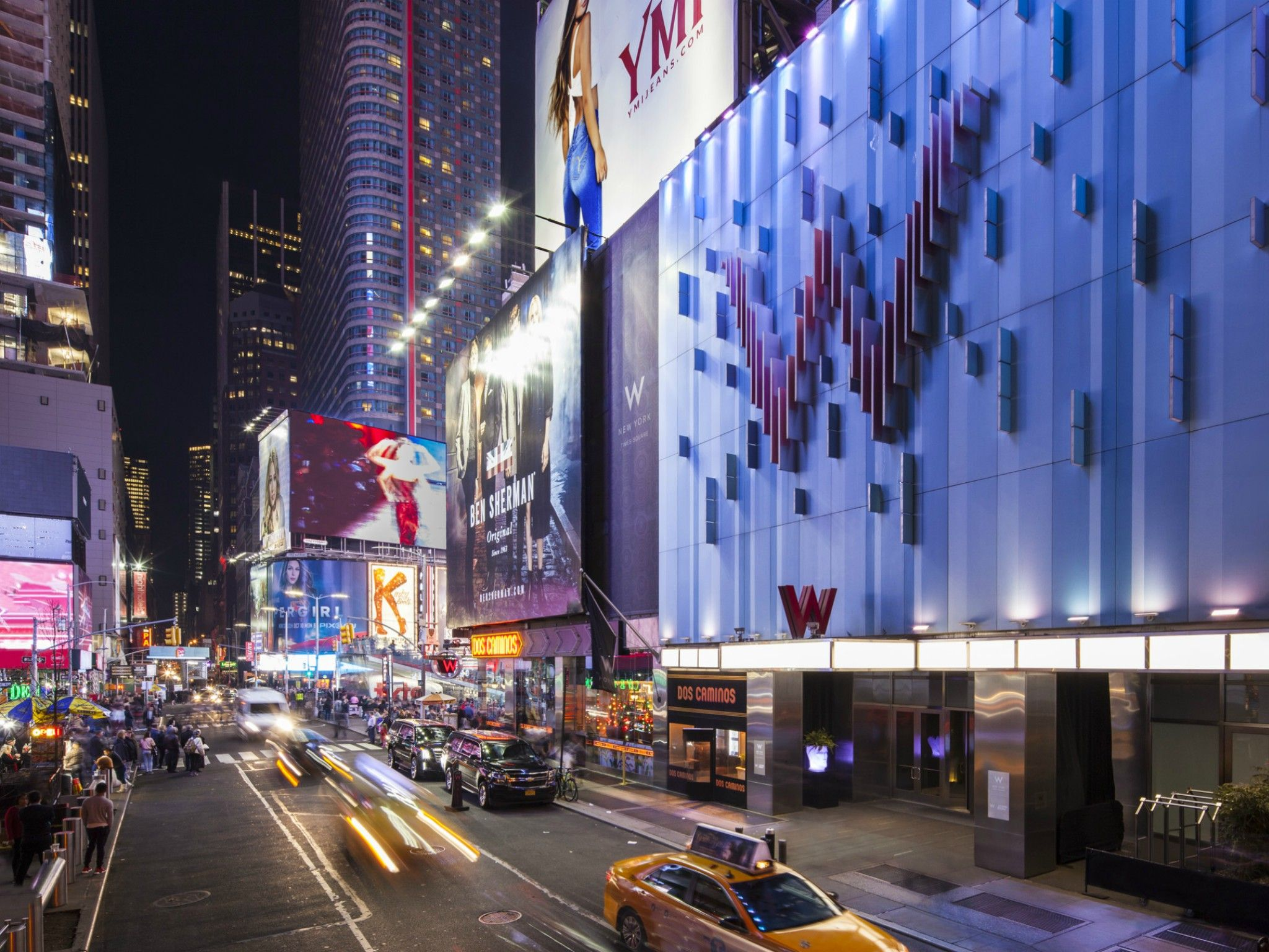 Luxury Hotels In Times Square New York W New York Times Square - Hotel avec cuisine new york