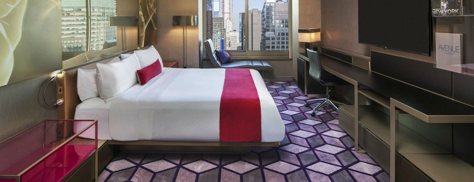 Times Square Accommodations | Spectacular King Room