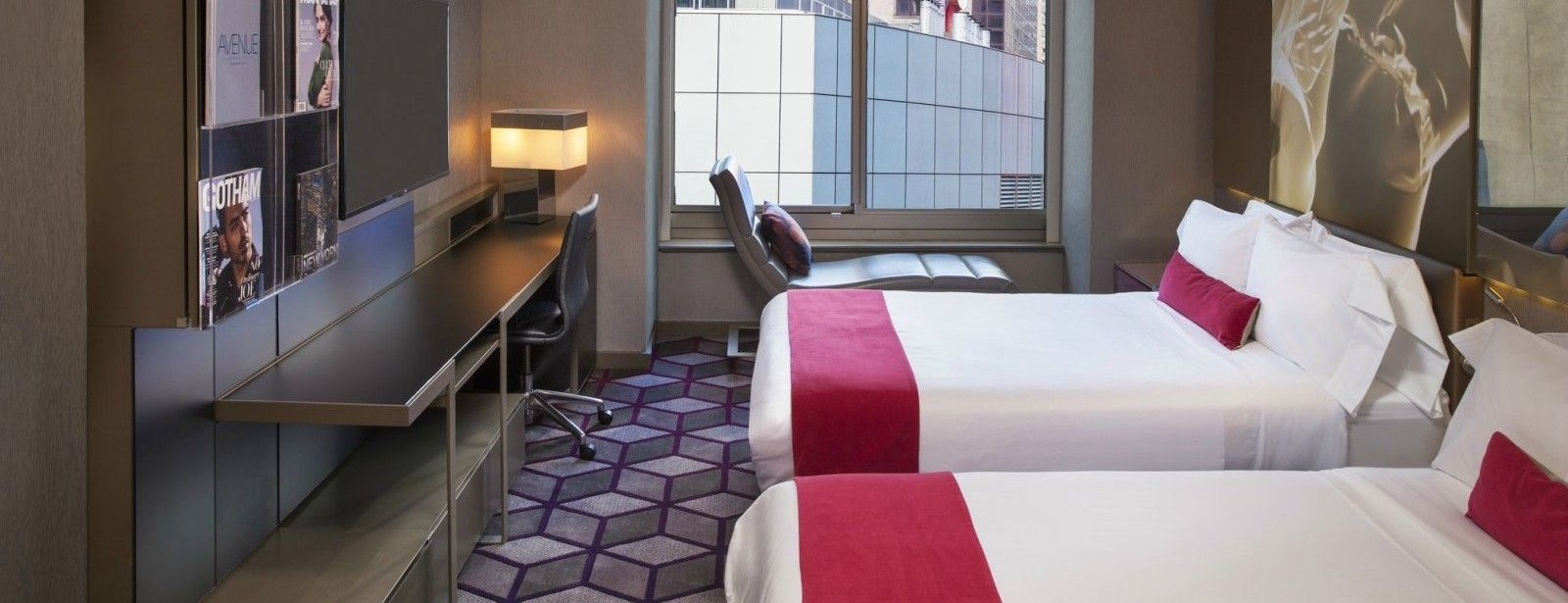 Times Square Accommodations | Wonderful Double Room